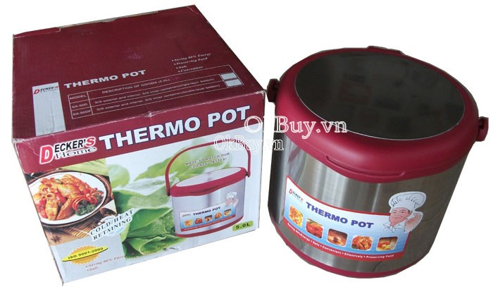 Deckers Home Thermo Pot 5 lít-1